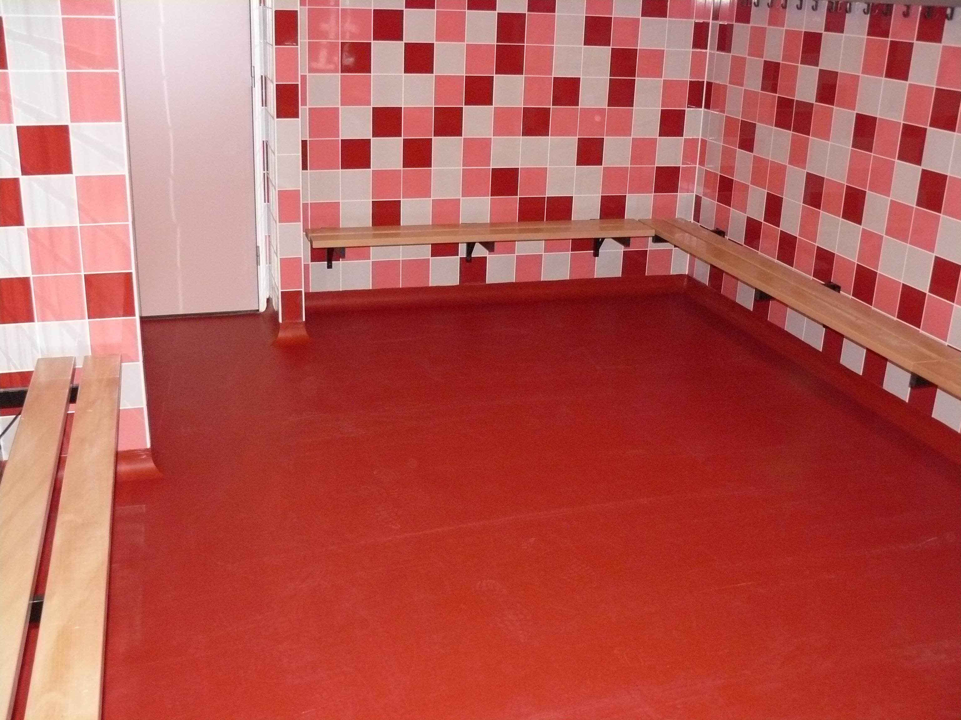 sanitaire ruimtes voorzien van kunststof gietvloer tocop